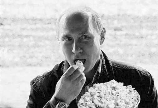 put popcorn