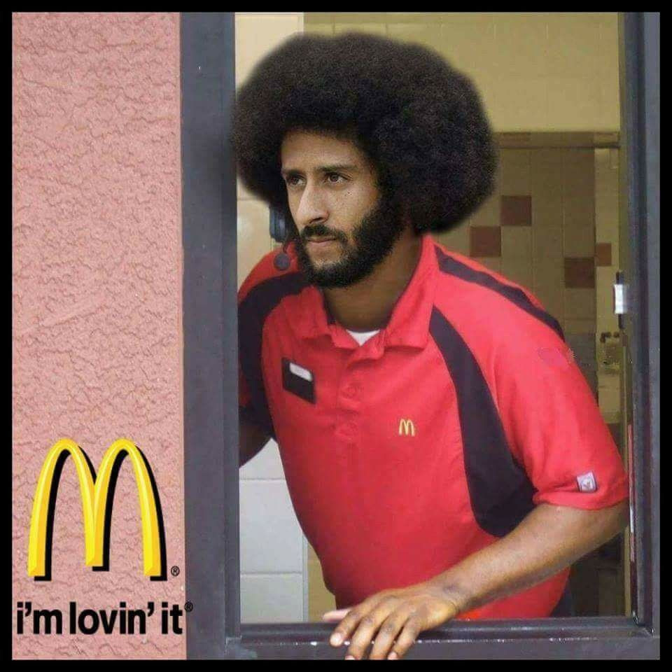 kaepernick mcdonalds