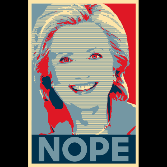 HOPE POSTER HILLARY NOPE
