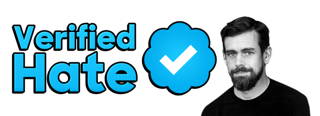 verified hate logo with jack larger