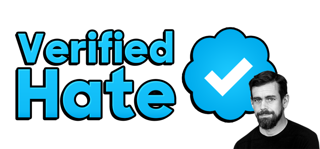 verified hate logo with jack